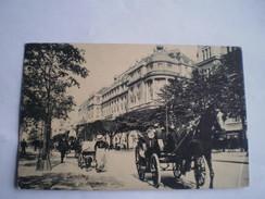 Hamburg //Atlantic Hotel An Der Alster ( Hundekarre Und Kutsche)(attelage Du Chien) // Verschickt 1912 TOP Karte - Duitsland