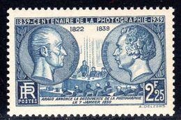 N° 427 Neuf* (Niepce & Daguerre)  COTE= 8 Euros !!! - Unused Stamps