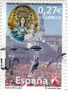 0,27 EURO - Fête De La VIERGE BLANCHE - 2001-10 Oblitérés