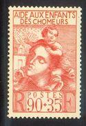 N° 428 Neuf* (Enfants Des Chômeurs)  COTE= 2,75 Euros !!! - France