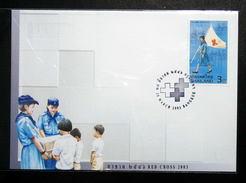 Thailand Stamp FDC 2003 Red Cross - Thaïlande