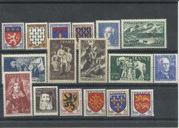 FRANCIA YVERT 572/75,581/86,599/605  MNH  ** - 1941-66 Escudos Y Blasones