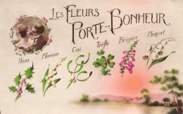 LES FLEURS PORTE - BONHEUR - Fantaisies