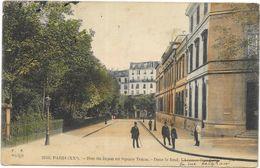 PARIS: RUE DU JAPON AU SQUARE TENON - Arrondissement: 20