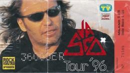 BIGLIETTO CONCERTO VASCO ROSSI - TOUR 96 - MILANO MONZA - Biglietti D'ingresso