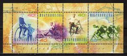 Hungary 2002 History Of The Bicycle. M/S. MNH - Hungary