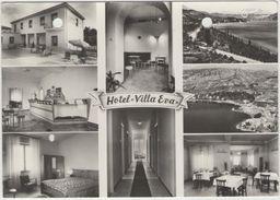 """CPM: COSTERMANO (italie):  Hôtel """"VILLA EVA""""  (multivues) (photo Véritable) (D1738) - Hotels & Gaststätten"""
