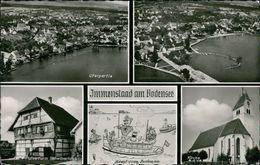 AK Immenstaad Am Bodensee, Mehrbildkarte, O 1964 (21018) - Otros