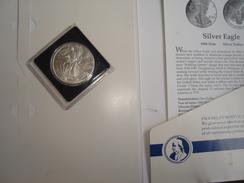 USA.1986.Silver Eagle.One Dollar Coin.Proof.31 Gr.New. - Estados Unidos