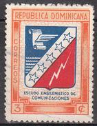DOMINICAN REPUBLIC     SCOTT NO. 417     USED     YEAR 1945 - Dominican Republic