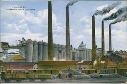 AK Dortmund, Stahlwerk Hösch, Hochöfen, O 1923, Papier Unten Links Dünn (21037) - Dortmund