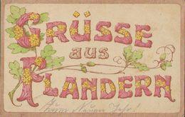 Grüsse Aus Flandern, Weihnachten, Neujahr 1917, Postkarte, Militär, Deutsches Reich, Weltkrieg - Guerra 1914-18