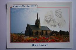 Saint Jean Trolimon (29) Dans Un Site Sauvage Et Solitaire Tronoen ( La Chapelle Notre Dame 14°siecle - Saint-Jean-Trolimon