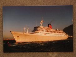 CUNARD LINE SAGAFJORD BY TABLE BAY 1994 - Dampfer