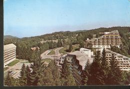 K2. Romania POIANA BRASOV Hotel Sport Turistic Posted Postcard - Romania
