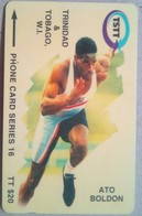 Trinidad 179CTTA Ato Boldon $20 - Trinidad & Tobago