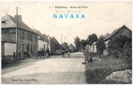 60 THIEULOY - Route De Paris     (Recto/Verso) - France