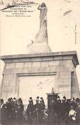 """08-FLOING- SEDAN- INAUGURATION DU MONUMENT DES """" BRAVES GENS"""" LE MONUMENT OEUVRE DE EMILE GUILLAUME - France"""