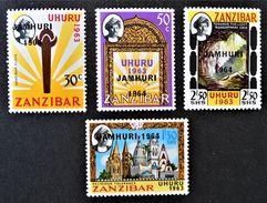 SURHARGES 1964 - NEUFS ** - YT 298/01 - Zanzibar (1963-1968)