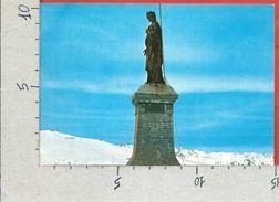 CARTOLINA NV ITALIA - MONESI DI TRIORA (IM) - Statua Del Redentore - 10 X 15 - Imperia