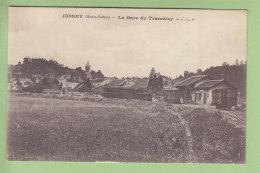 JUSSEY : La Gare Du Tramway, Train, Locomotive. TBE. 2 Scans. Edition CLB - France