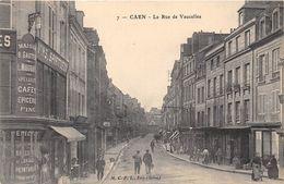 14-CAEN- LA RUE DE VAUCELLES - Caen