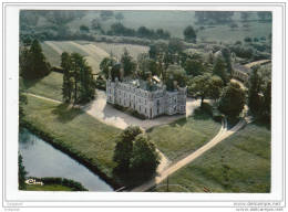 49 - Bauge - Vue Aerienne - Chateau Gresillon - France