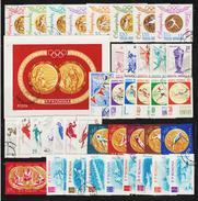 ROMANIA - 40 SPORT Postage Stamps (1) - Briefmarken