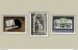 Hungary 1961. Ferenc Liszt Set MNH (**) Michel: 1793-1795 / 2.50 EUR - Ungarn
