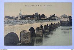 SELLES SUR CHER Vue Générale Pont - Selles Sur Cher
