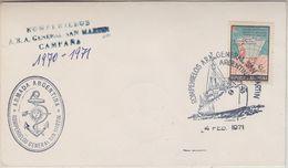 Argentina 1971 Antarctica Armada Argentina / Ship General San Martin Cover (36873) - Postzegels