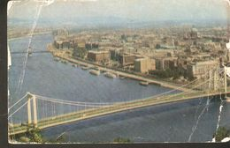 K2. Hungary BUDAPEST Panorama Of The City With A View Of The Danube 1970 - Hungary