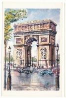 Arc De Triomphe - Peinture De Pedro Vargas - Editions Krisarts - Arc De Triomphe