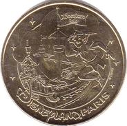77 SEINE ET MARNE DISNEYLAND PARIS N°21 PETER PAN DISNEY MICKEY MÉDAILLE MONNAIE DE PARIS 2010 JETON MEDAL COIN - Monnaie De Paris