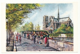 Notre-Dame De Paris - Peinture De Pedro Vargas - Editions Krisarts - Notre Dame Von Paris