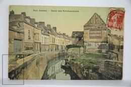 Old Postcard France - Vieil Amiens - Canal Des Parcheminiers  - Posted - Amiens