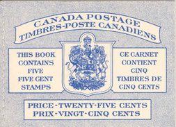 CANADA, 1953, Booklet 52a, Mi 0-48 - Ganze Markenheftchen