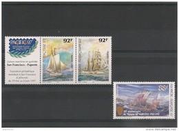 POLYNÉSIE  Bateaux  Année 1997 N° Y/T : 531/32-548** - Polynésie Française