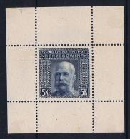 Österreichisch- Bosnien Und Herzegowina Mi  44 Probedrück Original Papier Auf Kartonpapier  Signiert /signed/ Signé - 1850-1918 Imperium