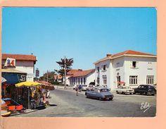 Cp  Cartes Postales  - Mimizan Plage Rue De La Poste - Mimizan Plage
