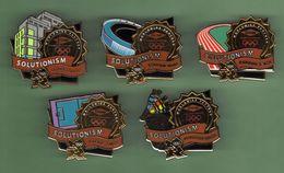 JEUX OLYMPIQUES *** LONDRES 2012 *** Lot De 5 Pin's Differents *** 0088 - Jeux Olympiques