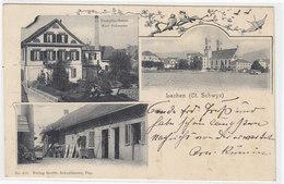 Lachen - Dampfmolkerei V. Karl Schwyter - 1903      (P-86-10301) - SZ Schwyz