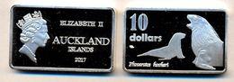 AUCKLAND ISLAND 2017  NEW ZELAND 10 DOLLARI NON UFFICIALE - Nuova Zelanda