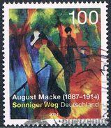 Allemagne Fédérale - August Macke, Peintre Allemand 2917 (année 2014) Oblit. - [7] République Fédérale