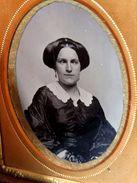 1860s - Tin Type - Rare Crossed Eye Woman - - Photographs