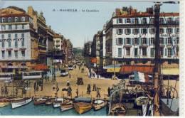 MARSEILLE - La Canebiere,  Tram, - Canebière, Centro