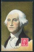 Etats Unis - Carte Maximum 1946 - George Washington - Maximumkarten (MC)
