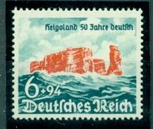Deutsches Reich. Helgoland 50 Jahre Deutsch, Postfrisch ** - Deutschland