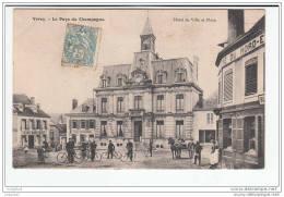 Verzy - Hotel-de-ville Et Place - Verzy