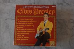 ELVIS PRESLEY A MERRY CHRISTMAS ALBUM FROM  LP HOLLANDAIS  DE 1982 - Rock